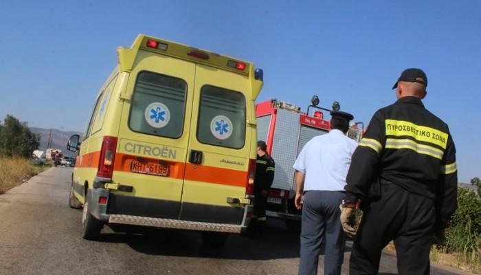 Σε σοβαρή κατάσταση 23χρονος μετά από τροχαίο στην Κρήτη