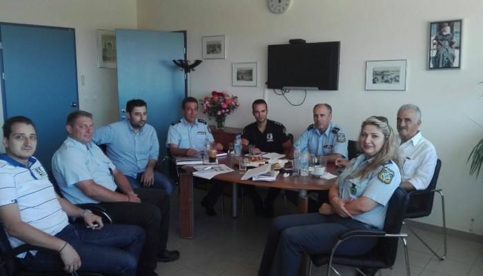 Συνάντηση Δημοτικής Αστυνομίας-ΕΛΑΣ για αντιμετώπιση της παραβατικότητας