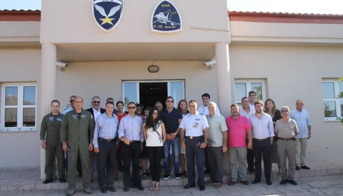 Επίσκεψη μελών Παγκόσμιας Διακοινοβουλευτικής Έν. Ελληνισμού στην 115 ΠΜ