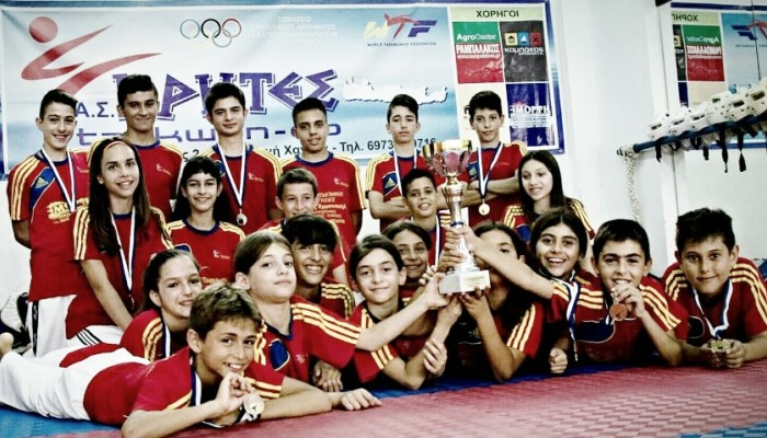 ΑΣ Κρήτες: 1η θέση στο διασυλλογικό πρωτάθλημα