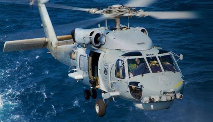 Επιχείρηση μεταφοράς ναυτικού στα Χανιά με ελικόπτερο του Π.Ν.