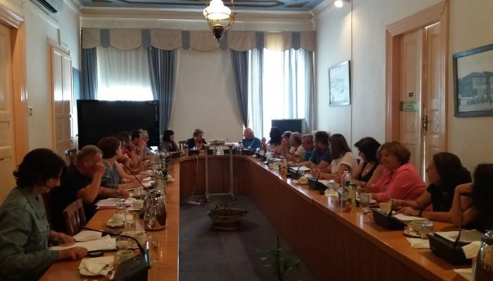 Συνάντηση εργασίας για την νέα υγειονομική νομοθεσία