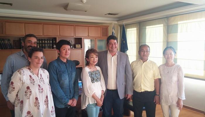 Ιάπωνες επιχειρηματίες στο ΕΒΕΧ