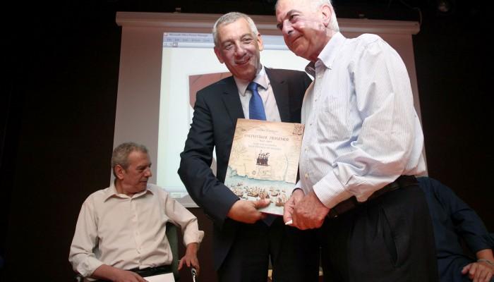Στην παρουσίαση του βιβλίου «Είμαστε πια πρωταθλητές» ο Δήμαρχος Ηρακλείου