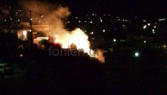 Λαχτάρισαν κάτοικοι από μικρή φωτιά στο Αμμούδι Λασιθίου- Από τι προκλήθηκε