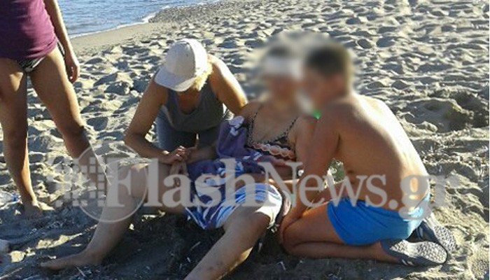 Ανεμοστρόβιλος σε παραλία της Κρήτης εκτόξευσε σίδερο στο κεφάλι γυναίκας