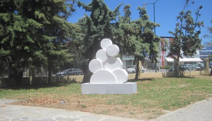 Ένα γλυπτό από το Βενεράτο στο πάρκο Σοφίας