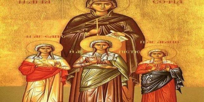 Το Ιερό Λείψανο της Αγίας Ελπίδος στην Ιερά Μονή Κορακιών στα Χανιά