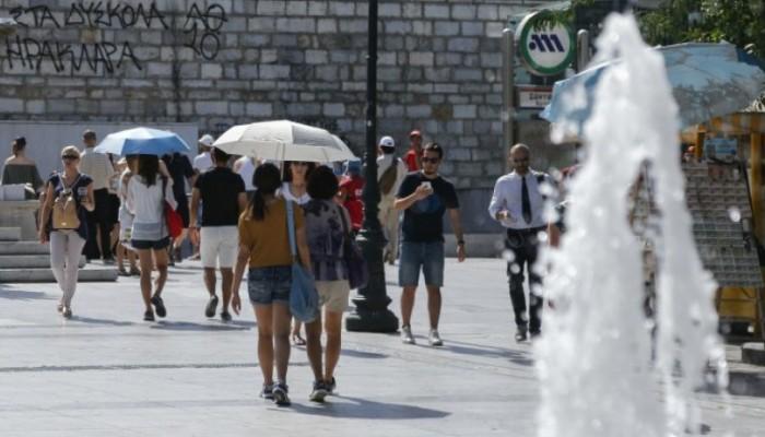 «Καμίνι» και σήμερα η χώρα – Σε ποιες περιοχές το θερμόμετρο θα δείξει πάνω από 38 βαθμούς