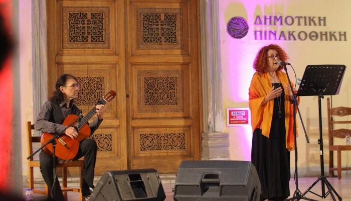 «Μάγεψε» το κοινό η Αλίκη Καγιαλόγλου στο «Τέχνη καθ' οδόν»