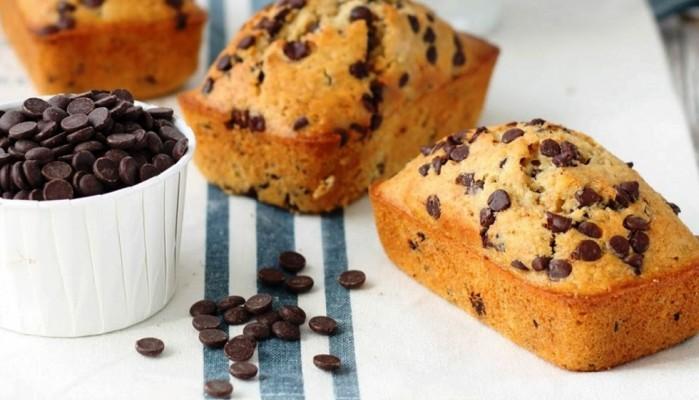 Κέικ με κομματάκια σοκολάτας και με λιγότερες θερμίδες
