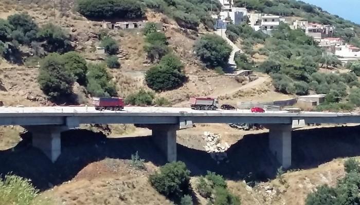 Αρχίζουν εργασίες στην Κοιλαδογέφυρα Χαμεζίου