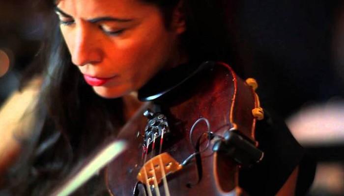 Η διεθνώς καταξιωμένη βιολίστρια Μαρία Μανουσάκη σε συναυλία στον Αλικιανό