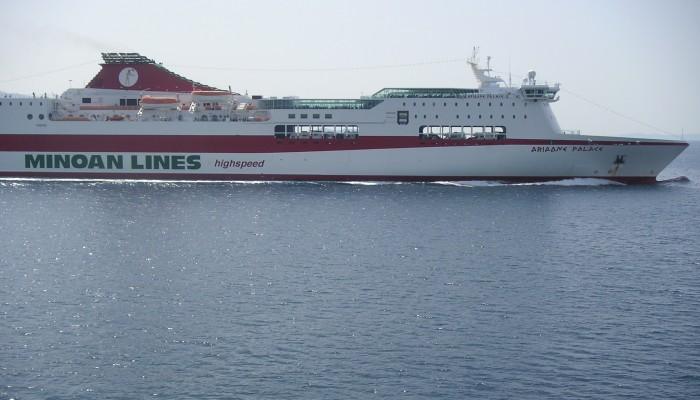 Παιδάκι χτύπησε στο κατάστρωμα του πλοίου στο Ηράκλειο