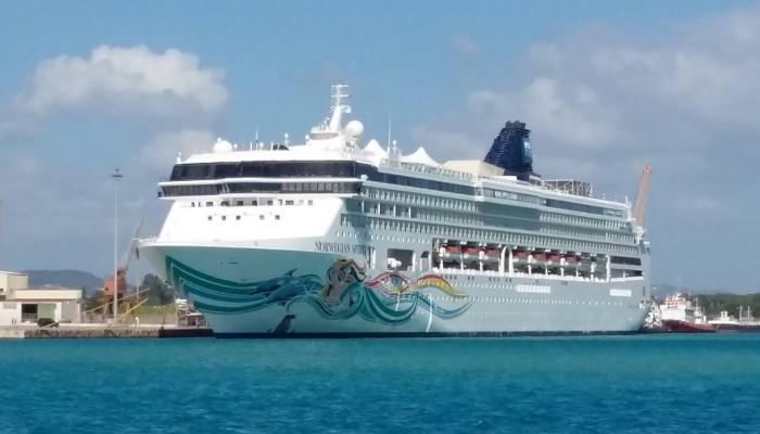 Η Norwegian Cruise Line για πρώτη φορά στα Χανιά (φωτο)