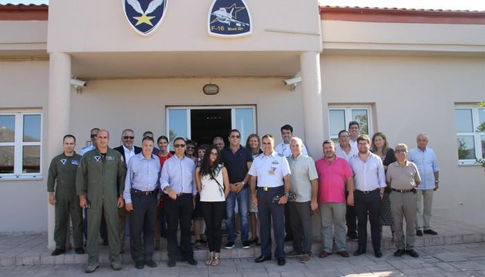 Επίσκεψη ομογενών Βουλευτών στην 115 Πτέρυγα Μάχης στα Χανιά