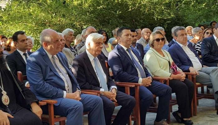 Εκδήλωση στο Κράσι για τον Ν. Καζαντζάκη Προκόπη Παυλόπουλου