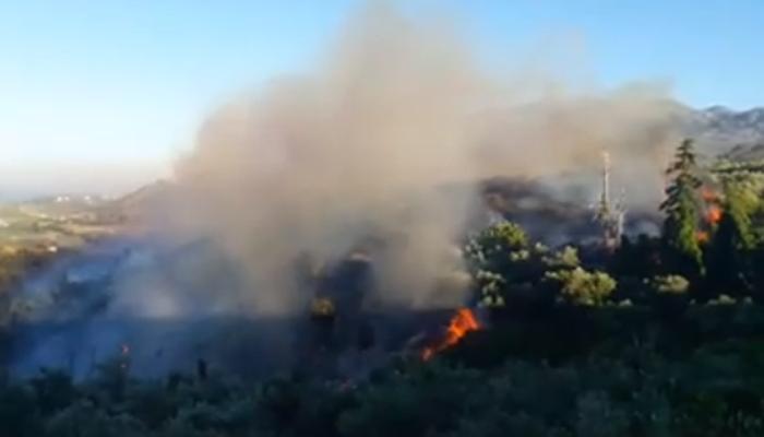 Υπό έλεγχο η πυρκαγιά στον Αποκόρωνα