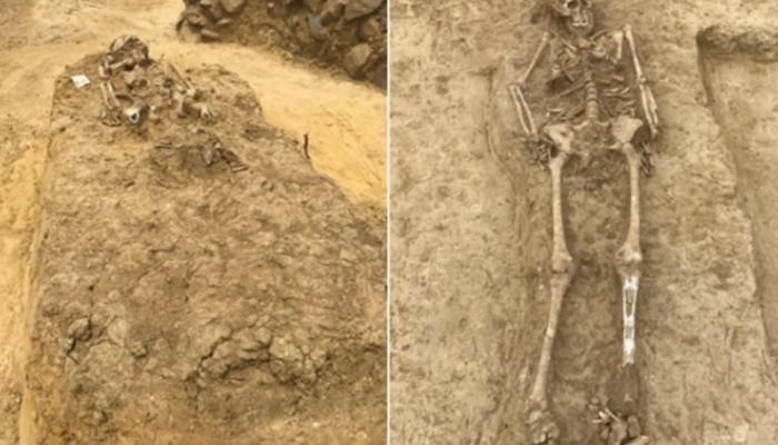 Αλεξανδρούπολη: Έσκαβαν για τον ΤΑΡ και βρήκαν τάφους του 5ου-6ου αιώνα