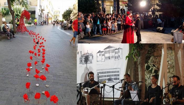 Ολοκληρώνεται σήμερα το 2ο Παγκρήτιο Φεστιβάλ Δρόμου «Τέχνη καθ' οδόν»