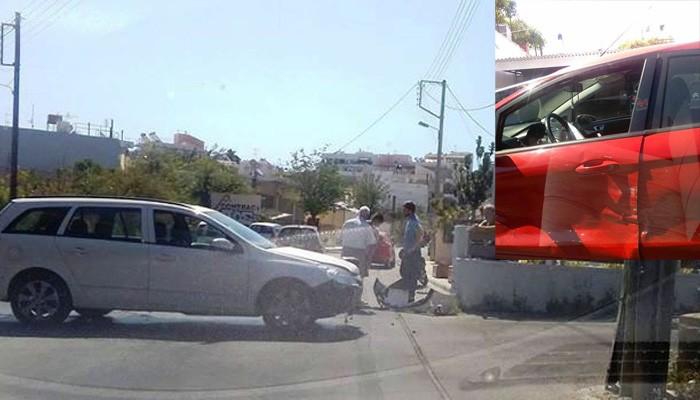 Δύο τροχαία μέσα σε μια ώρα στην πόλη των Χανίων (φωτο)