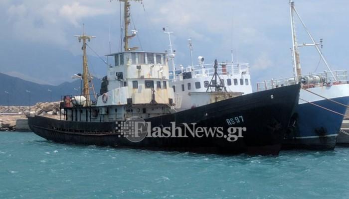 ΥΠΟΙΚ: Υπήρχαν τσιγάρα της ΣΕΚΑΠ στο πλοίο της Παλαιόχωρας