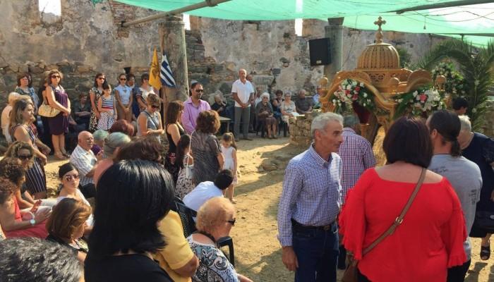 Εορτάστηκε ο Δεκαπενταύγουστος σε ένα ιστορικό εκκλησάκι στην Αγιά