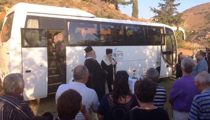 Δωρεά σύγχρονου λεωφορείου στο Αννουσάκειο Θεραπευτήριο  Κισάμου & Σελίνου
