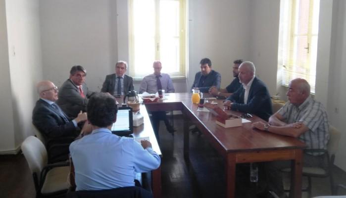 Η συνάντηση προέδρου Attica Bank την διοίκηση του ΤΕΕ Τμ. Δυτικής Κρήτης