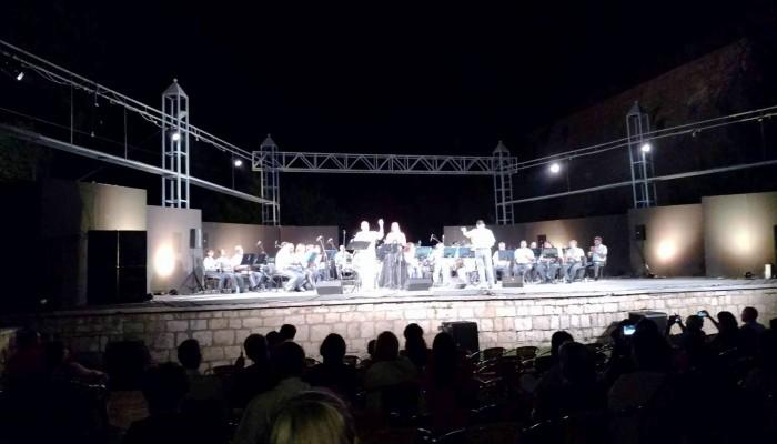 Ο Δήμαρχος Ηρακλείου στην καλοκαιρινή συναυλία της Φιλαρμονικής του Δήμου