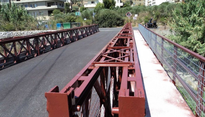 Ικανοποίηση της Ηράκλειας Πρωτοβουλίας για την αποκατάσταση της γέφυρας