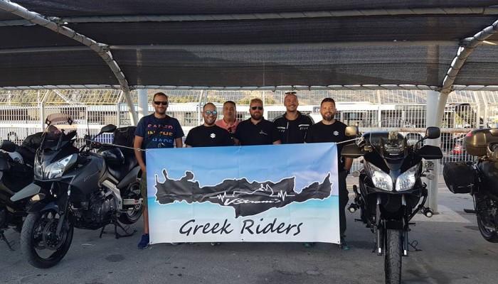 Οι Vstrom Greek Riders... στην Κρήτη