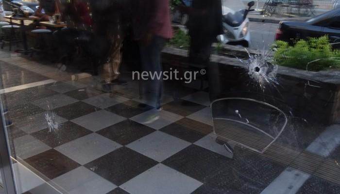 Βίντεο απ'τους πυροβολισμούς & την αδέσποτη σφαίρα στον Κορυδαλλό