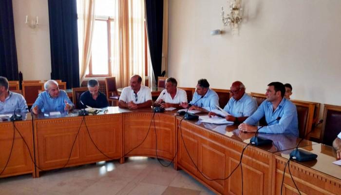 Συνάντηση Δημάρχου Ηρακλείου με τους προέδρους των τοπικών κοινοτήτων