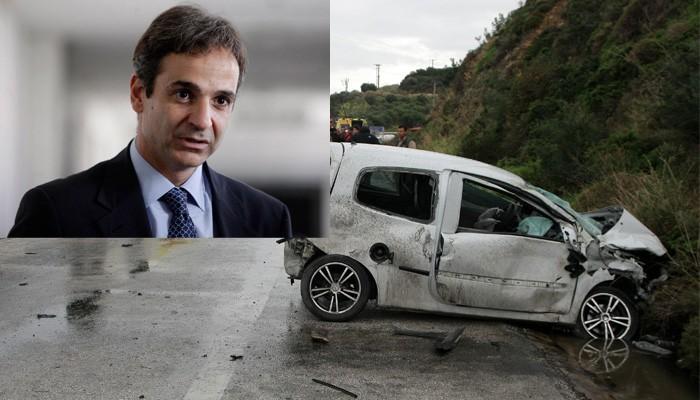 Οργή και θλίψη Κυριάκου Μητσοτάκη για τα τροχαία στην Κρήτη