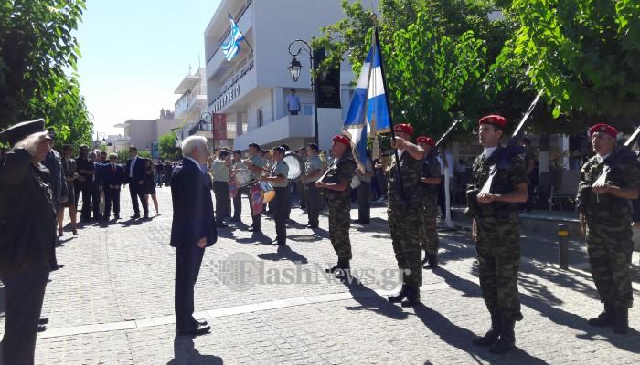 Π. Παυλόπουλος από Ανώγεια: Είμαστε έτοιμοι να υπερασπιστούμε τα σύνορά μας