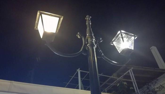 Αντικαταστάθηκαν τα φωτιστικά στον Δήμο Πλατανιά
