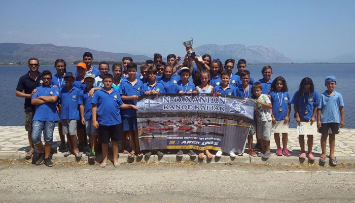 Κανόε Καγιάκ: Στα πρωταθλήματα Ανάπτυξης και SUP o NOX