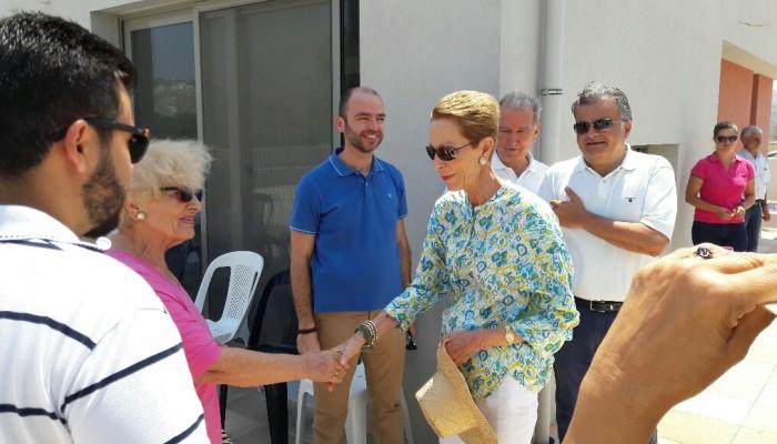 Στο Ηράκλειο για τα παιδικά χωριά SOS η πριγκίπισσα Σαλίμα Αγά Χαν