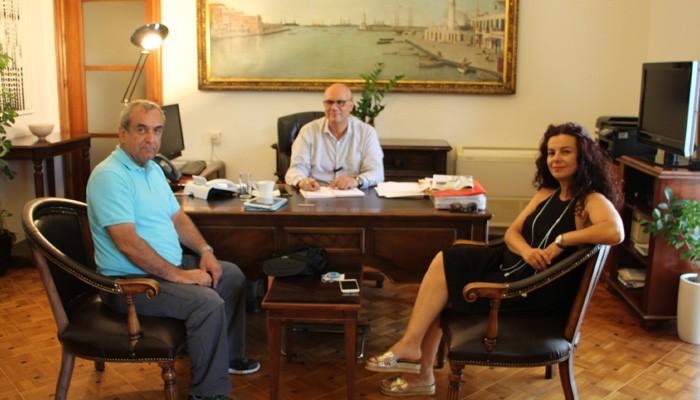 Το κυκλοφοριακό σε συνάντηση Δημάρχου Χανίων με τον αντιπρόεδρο των ξεναγών