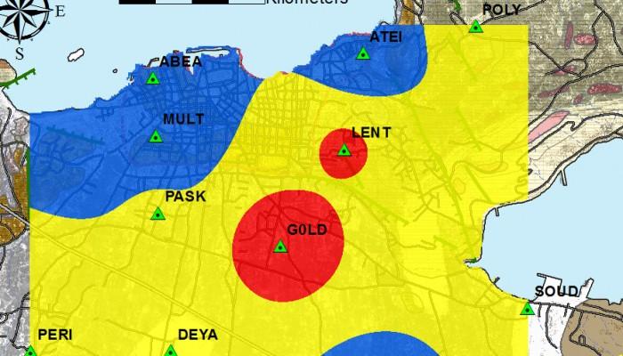 Αυτές οι περιοχές των Χανίων ένιωσαν δυνατά τον σεισμό (χάρτης)
