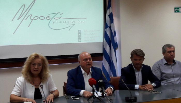 Aνακοίνωσε και επίσημα την υποψηφιότητά του ο Μανώλης Αλιφιεράκης