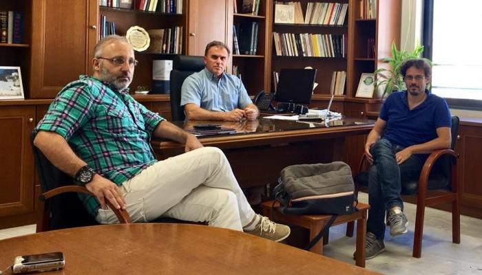 Τα έργα στο επίκεντρο της συνάντησης δημάρχου Ιεράπετρας και ΤΕΕ ΤΑΚ