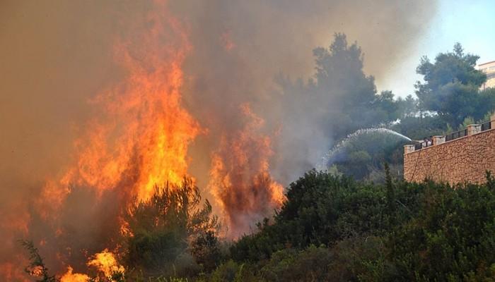 Υψηλός κίνδυνος φωτιάς και σήμερα στην Κρήτη