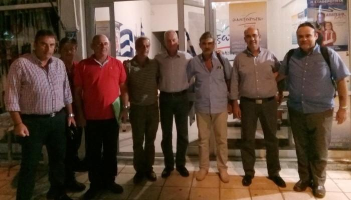 Συντονιστική επιτροπή των ΑΝΕΛ στο Ρέθυμνο