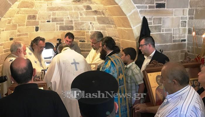 Νέα εκκλησία στην Κίσσαμο από γνωστό εκδότη - Στην μνήμη του αδελφού του