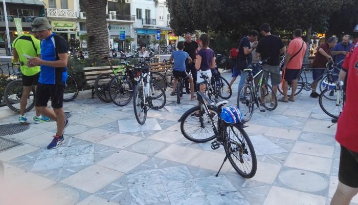 Κινητοποίηση για τα τροχαία ατυχήματα από τους ΠοδηΛάτρεις