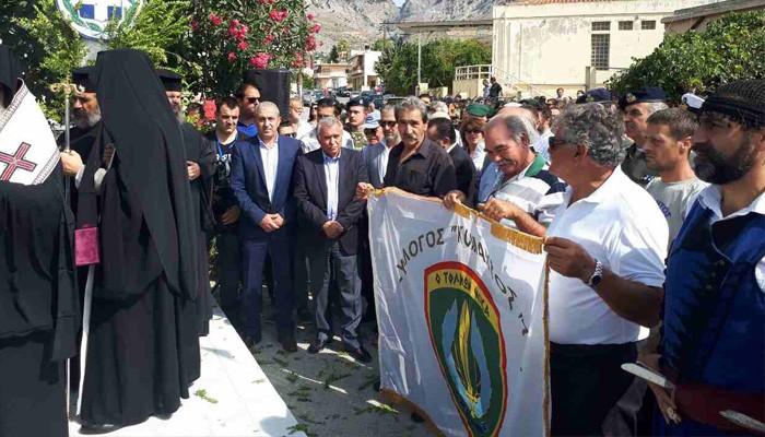 Ζαρός: Αποκαλυπτήρια προτομής πεσόντα στην Κύπρο
