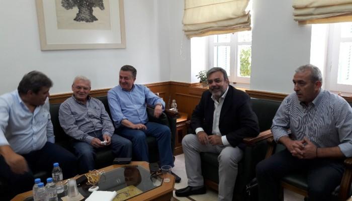 Με έμφαση τον ΒΟΑΚ η συνάντηση Αρναουτάκη - Βερναρδάκη και Βουλευτών