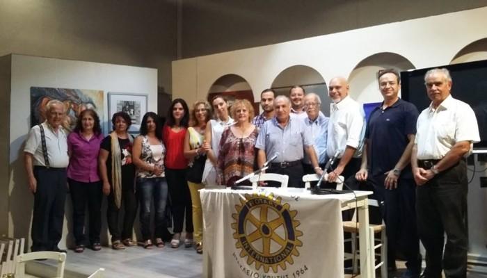 Ο Ροταριανός Όμιλος Ηρακλείου βραβεύει τους επιτυχόντες σε ΑΕΙ και ΑΤΕΙ